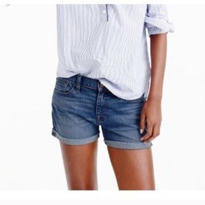 J Crew Indigo Denim Shorts